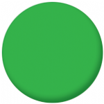 Plain Green 58mm Fridge Magnet
